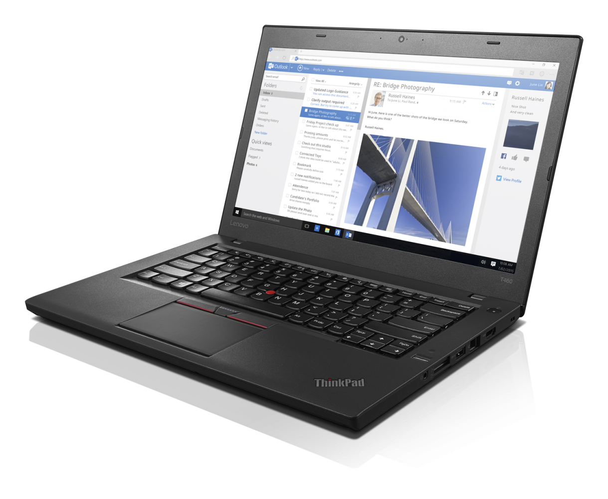 Ноутбук LENOVO ThinkPad T460 (20FNS04200) - 2