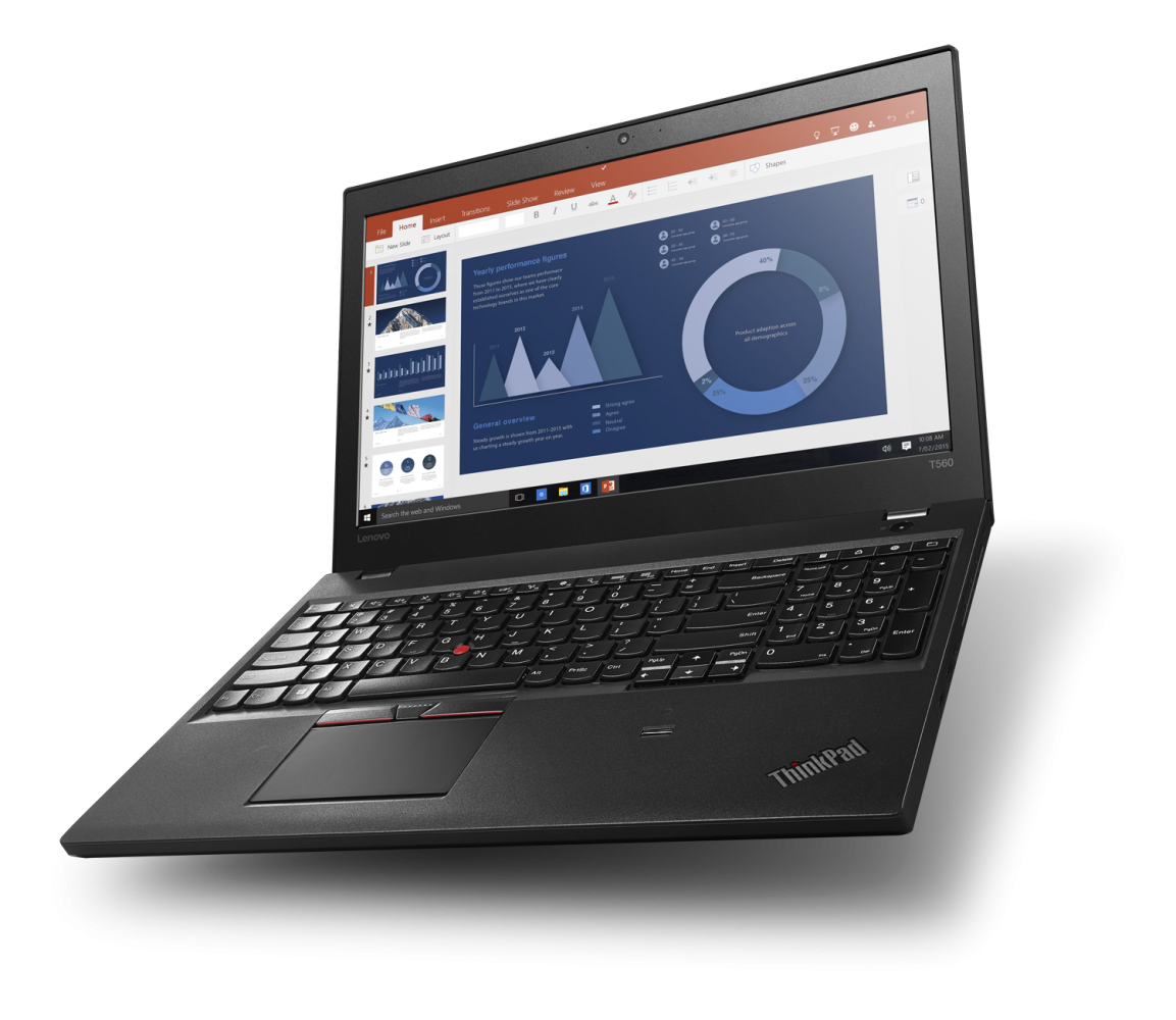 Ноутбук LENOVO ThinkPad T560 (20FHS05800) - 3