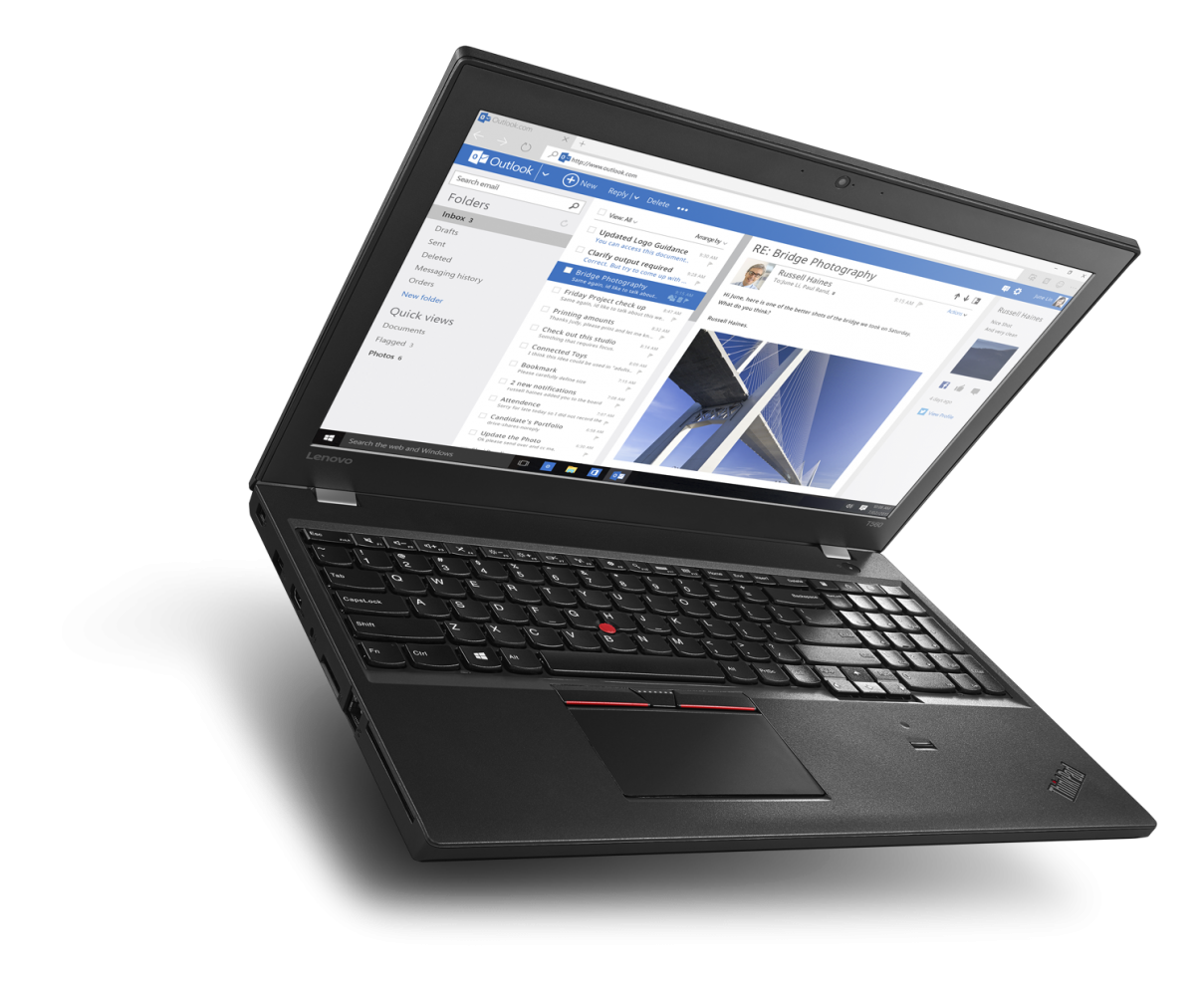 Ноутбук LENOVO ThinkPad T560 (20FHS05800) - 4