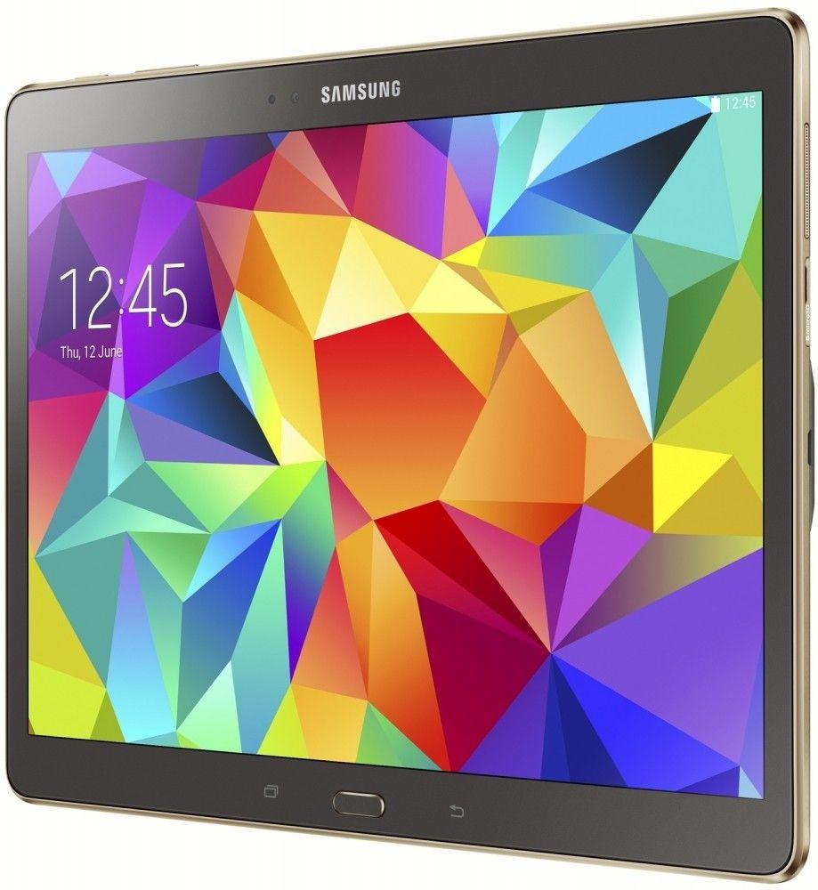 Планшет Samsung Galaxy Tab S 10.5 16GB Titanium Bronze (SM-T800NTSASEK) - 2