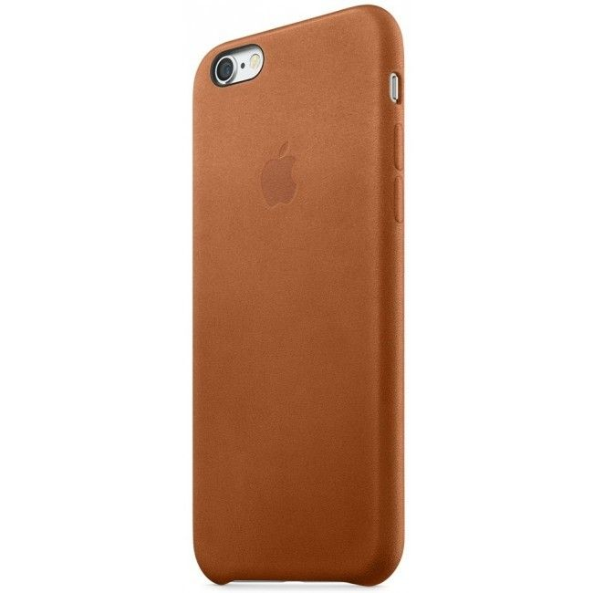 Чехол для Apple iPhone 6s Plus Leather Case Saddle Brown (MKXC2) - 2