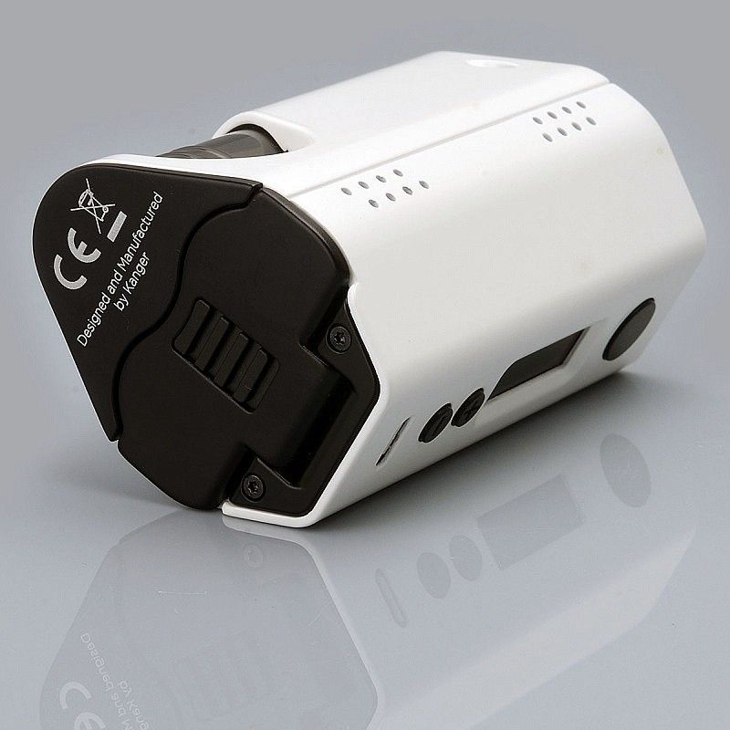Стартовый набор Kangertech DripBox 160W Starter Kit White (KRDB160SKW)  - 5