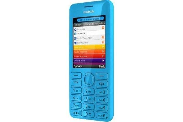 Мобильный телефон Nokia 206 Asha Dual Sim Cyan - 1