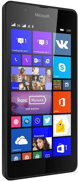 Мобильный телефон Microsoft Lumia 540 DS Black - 1