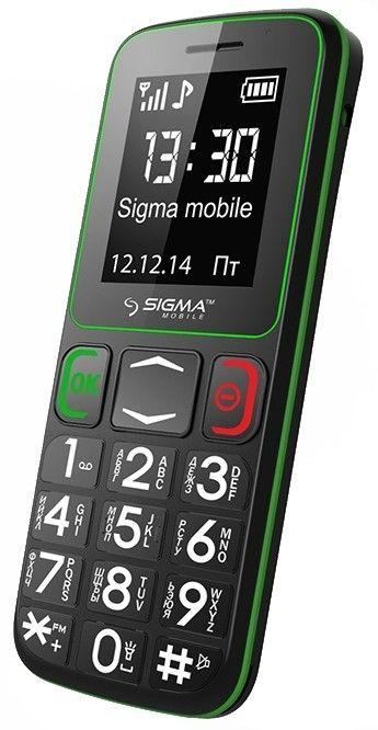 Мобильный телефон Sigma mobile Comfort 50 Mini3 Black-Green - 3