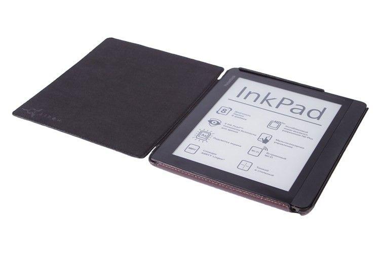 Обложка AIRON Premium для PocketBook 840 brown - 5