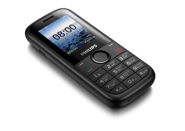 Мобильный телефон Philips E120 Dual Sim Black - 1