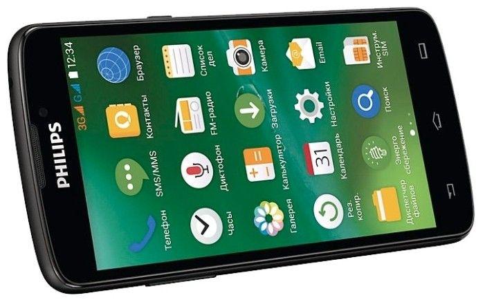 Мобильный телефон Philips Xenium V387 Black - 2