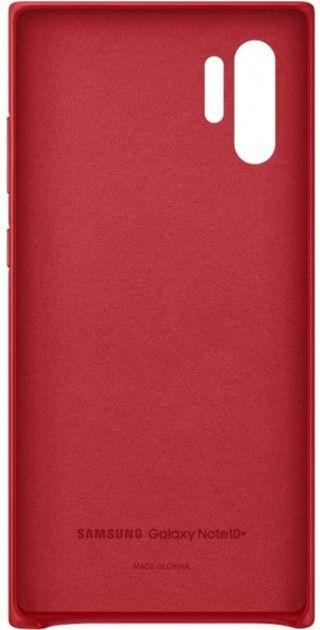 Чехол Samsung Leather Cover для Samsung Galaxy Note 10 Plus (EF-VN975LREGRU) Red от Територія твоєї техніки - 4