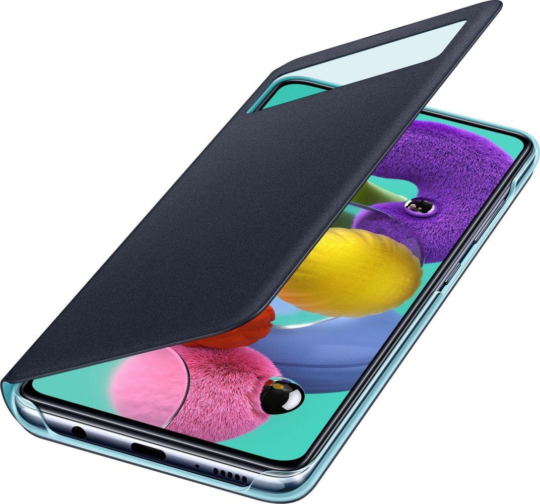 Чехол Samsung S View Wallet Cover для Samsung A515 (EF-EA515PBEGRU) Black от Територія твоєї техніки - 3