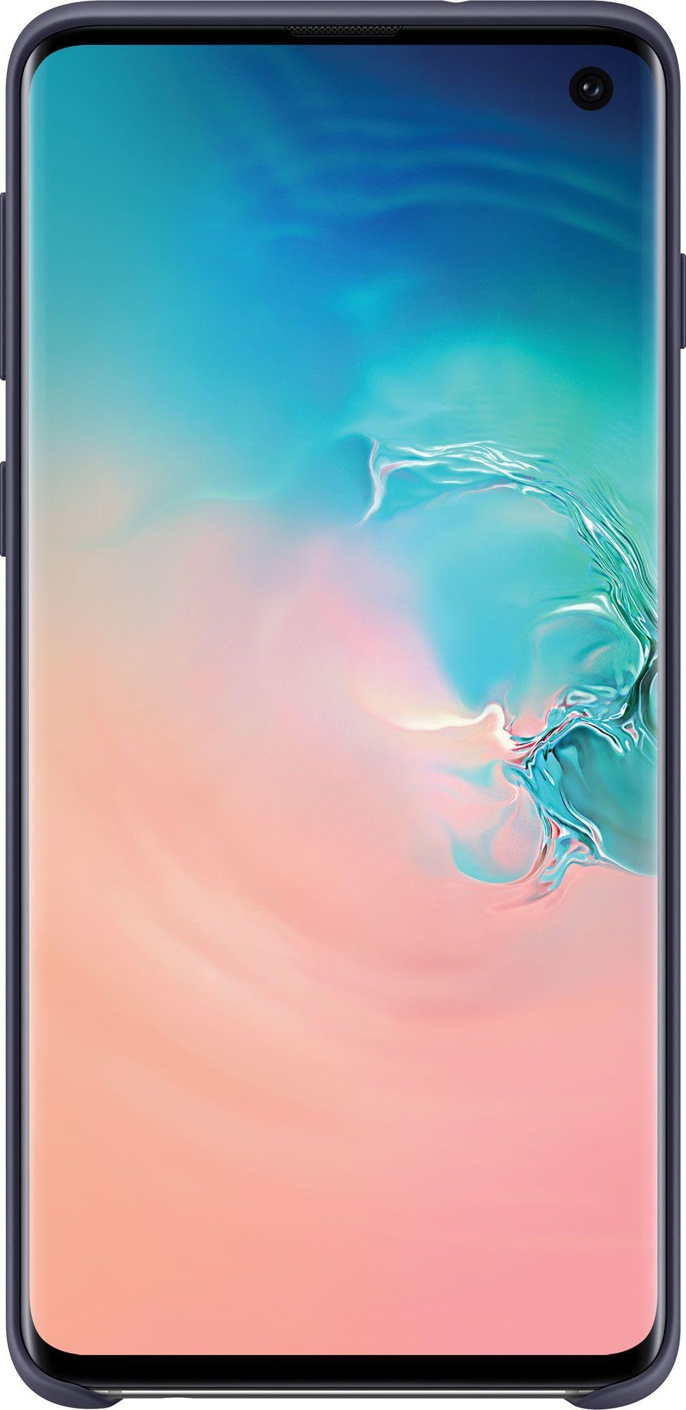 Панель Samsung Silicone Cover для Samsung Galaxy S10 (EF-PG973TNEGRU) Navy от Територія твоєї техніки - 2