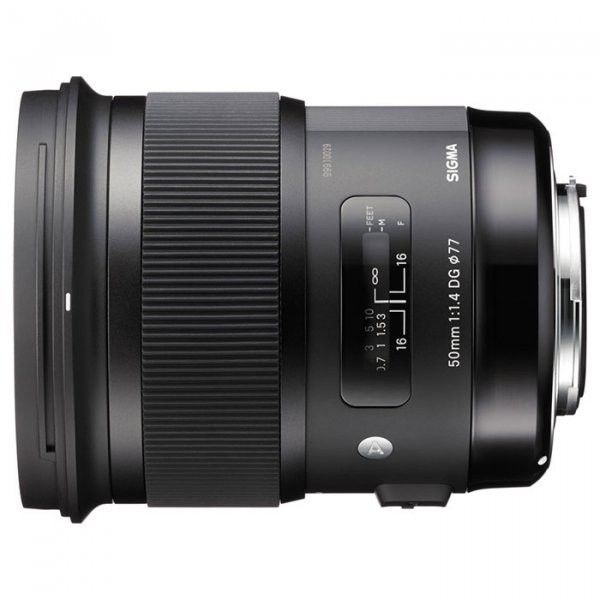 Объектив Sigma AF 50mm f/1.4 DG HSM Art Canon (311954)