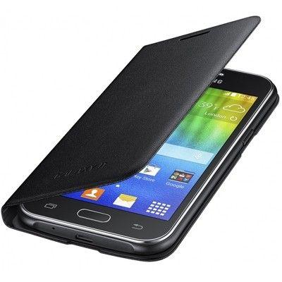 Чехол Samsung EF-FJ100B для Samsung Galaxy J1 J100H Black (EF-FJ100BBEGRU) - 1