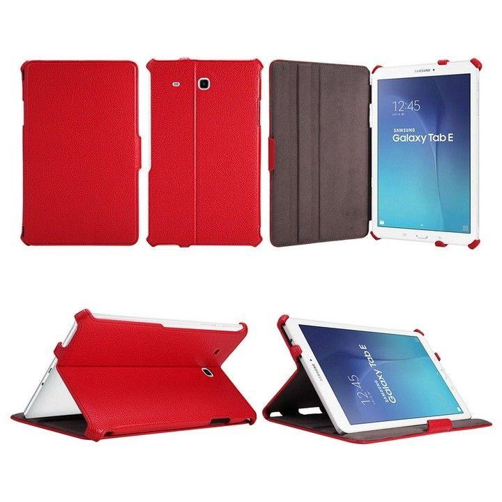 Обложка AIRON Premium для Samsung Galaxy Tab E 9.6 Red - 7