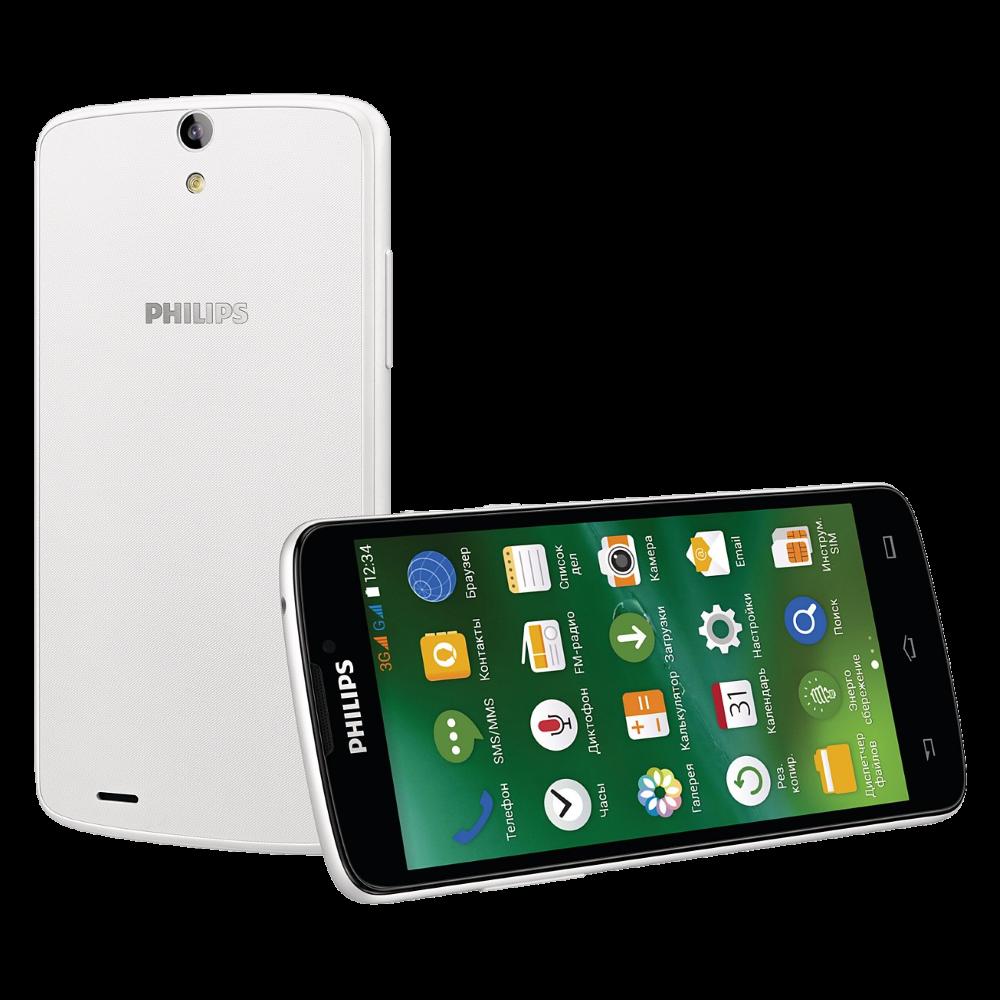 Мобильный телефон Philips Xenium V387 White - 1