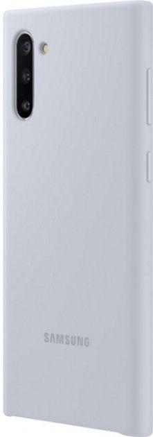 Накладка Samsung Silicone Cover для Samsung Galaxy Note 10 (EF-PN970TSEGRU) Silver от Територія твоєї техніки - 3