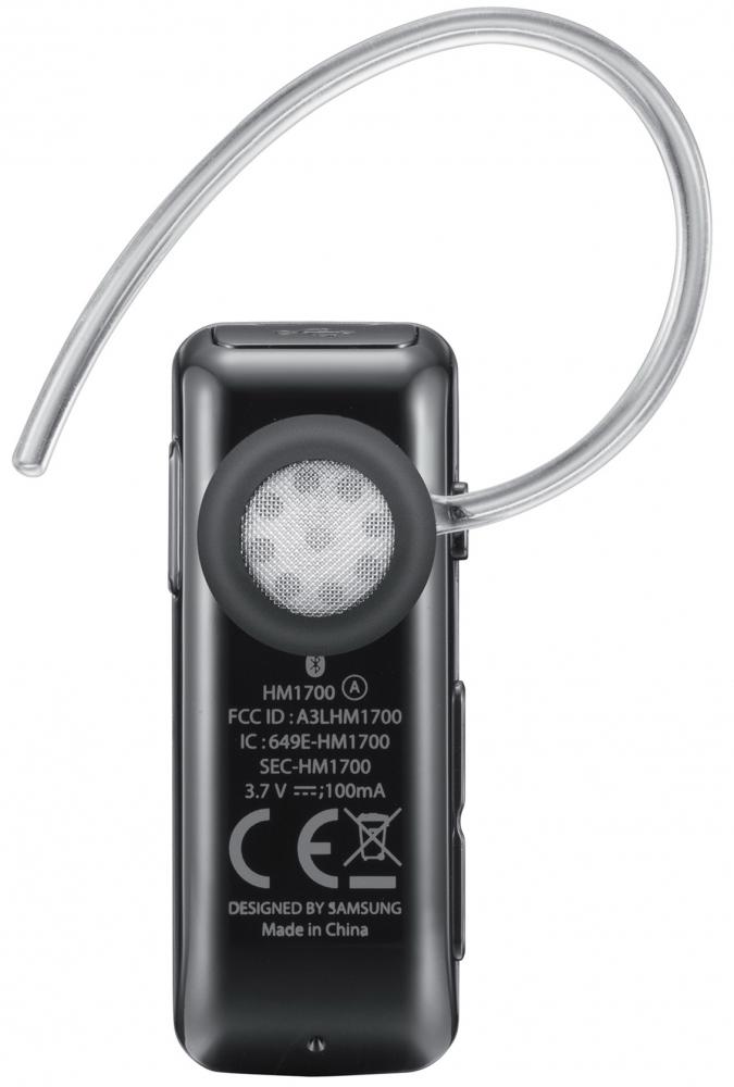Bluetooth-гарнитура Samsung HM1700 Black (BHM1700EDECSEK) - 2