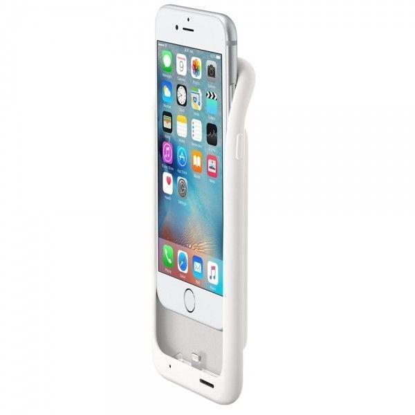 Чехол-аккумулятор Apple Smart Battery Case White (MGQM2) для iPhone 6s - 4