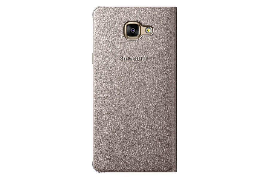 Чехол Samsung Flip Wallet для Galaxy S7 Gold (EF-WG930PFEGRU) - 2