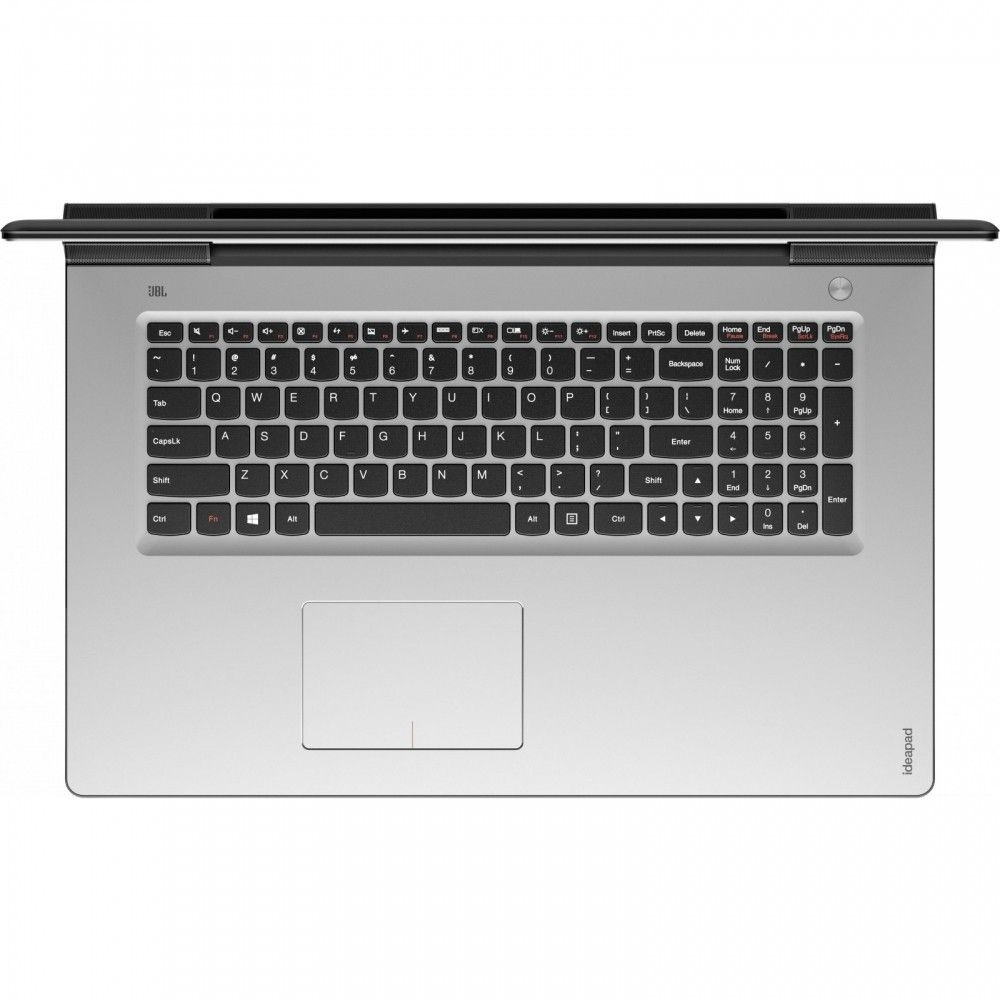 Ноутбук Lenovo IdeaPad 700-17 (80RV0016UA) Black - Silver - 1