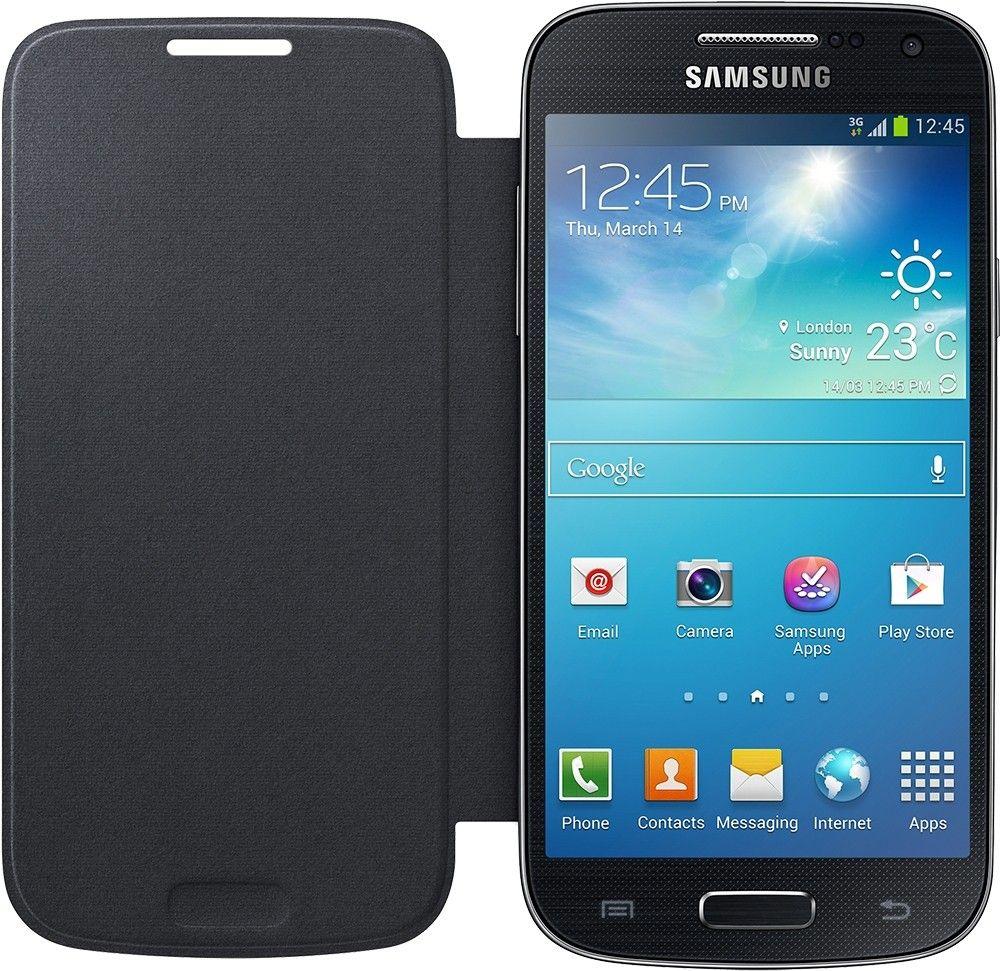 Чехол-книга Samsung для Galaxy S4 Mini Black (EF-FI919BBEGWW) - 1