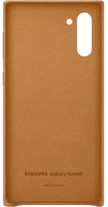 Чехол Samsung Leather Cover для Samsung Galaxy Note 10 (EF-VN970LAEGRU) Sand-Beige от Територія твоєї техніки - 2