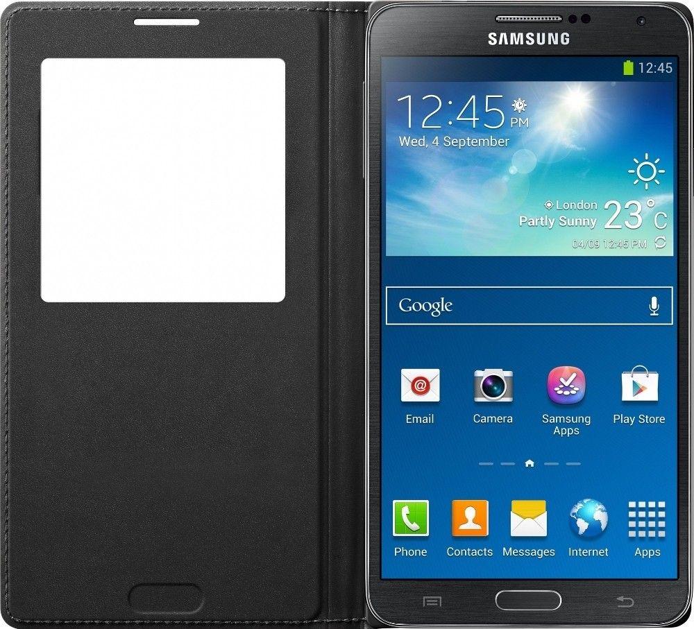 Чехол Samsung EF-CN900BBEGRU Black для Galaxy Note 3 - 1