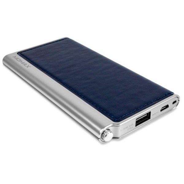 Портативная батарея MOMAX iPower Elite External Battery Pack 5000mAh Blue (IP51AB) - 1