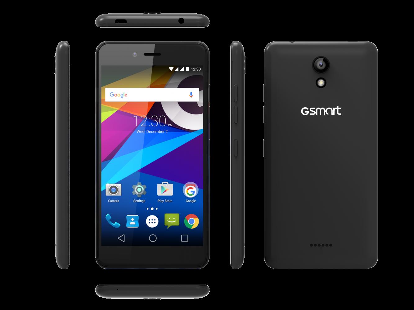 Мобильный телефон Gsmart Classic Joy Dual SIM Black - 2