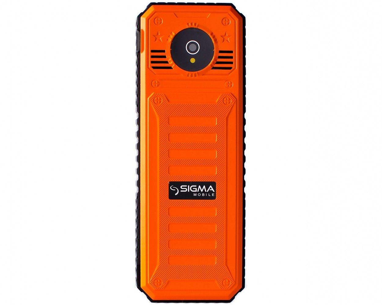 Мобильный телефон Sigma mobile X-style 11 Dragon Оrange - 1