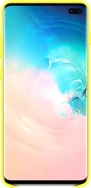 Панель Samsung Leather Cover для Samsung Galaxy S10 Plus (EF-VG975LYEGRU) Yellow от Територія твоєї техніки - 2