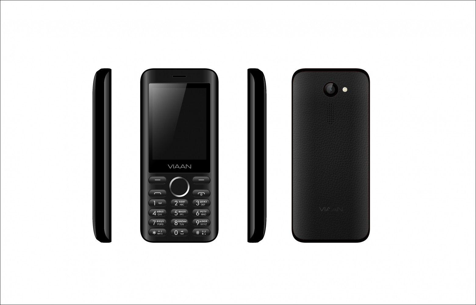 Мобильный телефон VIAAN V241 Black - 1
