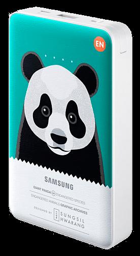 Портативная батарея Samsung External Battery Pack Animal Edition EB-PN915BGRGRU Green Panda - 1