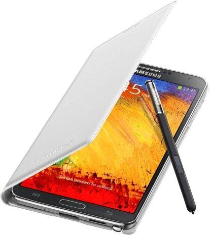 Чехол Samsung для Galaxy Note 3 Flip Wallet Jet (EF-WN900BWEGRU) White - 4