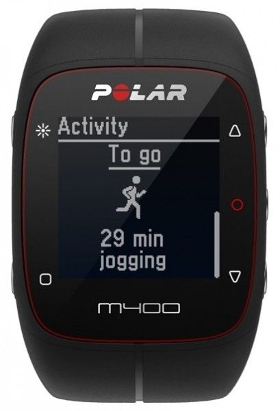 Фитнес-трекер Polar M400 HR Black - 1