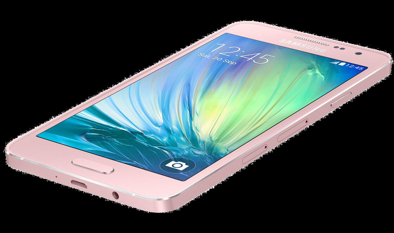 Мобильный телефон Samsung Galaxy A3 SM-A300H Pink - 1