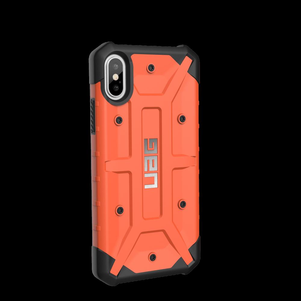 Чехол UAG iPhone X Pathfinder Rust Orange от Територія твоєї техніки - 3