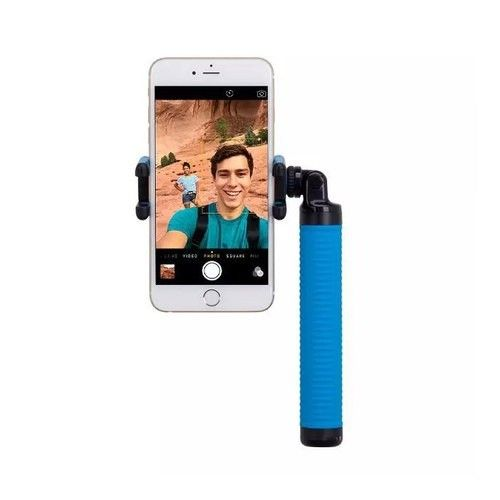 Монопод для селфи MOMAX Selfie Hero Bluetooth Selfie Pod 150cm Blue/Black (KMS8D) - 4
