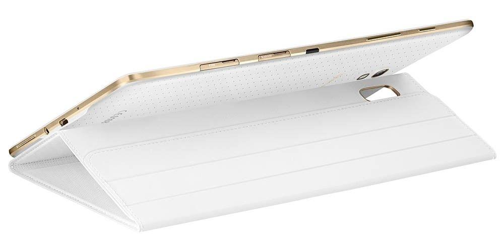 """Чехол Samsung для Galaxy Tab S 8.4"""" EF-BT700WWEGRU Dazzling White - 3"""