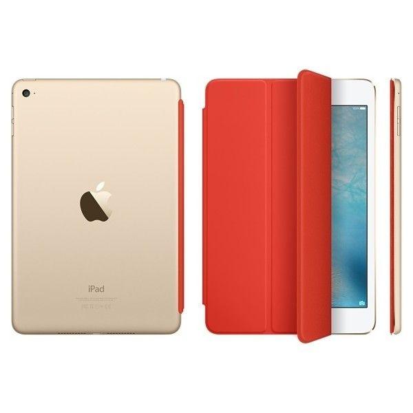 Чехол-книжка Apple Smart Cover для iPad mini 4 (MKM22ZM/A) Orange - 2