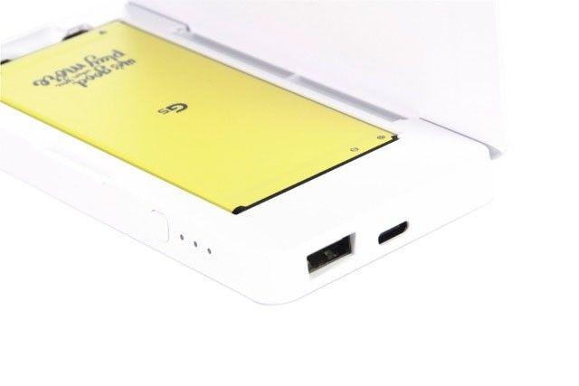Гибридная зарядная станция LG BCK-5100 (для LG G5) White (BCK-5100.AGRAWH) - 2