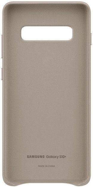 Панель Samsung Leather Cover для Samsung Galaxy S10 Plus (EF-VG975LJEGRU) Gray от Територія твоєї техніки - 4