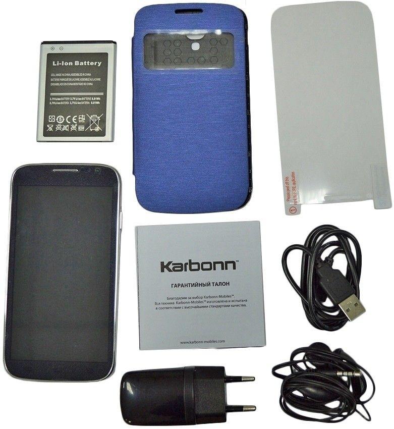 Мобильный телефон Karbonn KS606+ Black - 2
