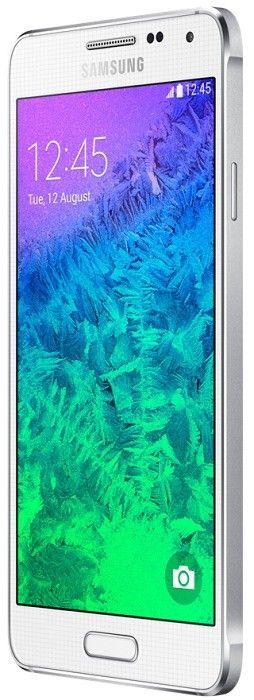Мобильный телефон Samsung Galaxy Alpha G850F Dazzling White - 4