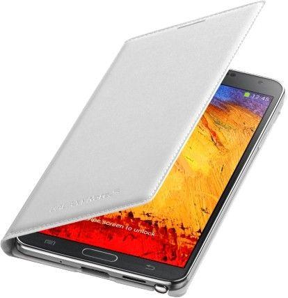 Чехол Samsung для Galaxy Note 3 Flip Wallet Jet (EF-WN900BWEGRU) White - 1