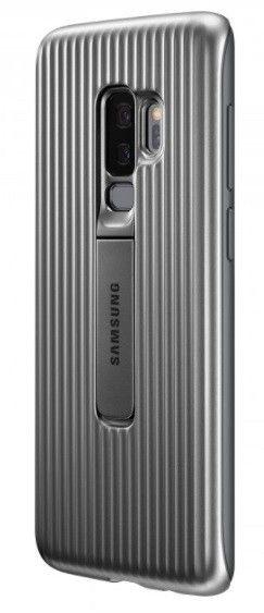 Накладка Samsung Protective Stadning Cover S9 Plus Silver (EF-RG965CSEGRU) от Територія твоєї техніки - 4