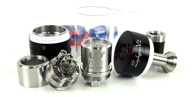 Атомайзер UD Zephyrus V2 RTA Kit Black (UDZV2KBK)  - 1