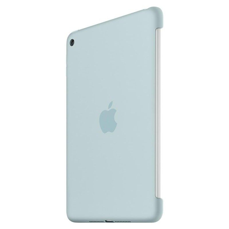 Силиконовый чехол Apple Silicone Case для  iPad mini 4 (MLD72ZM/A) Turquoise - 1