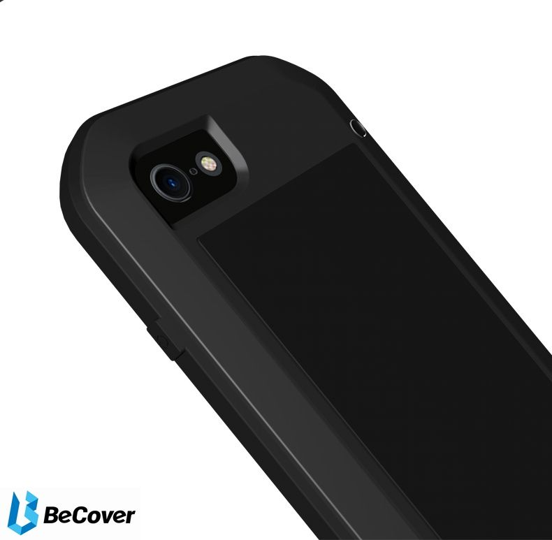 Панель Love Mei Powerful для Apple iPhone 7/8 (703116) Black от Територія твоєї техніки - 6