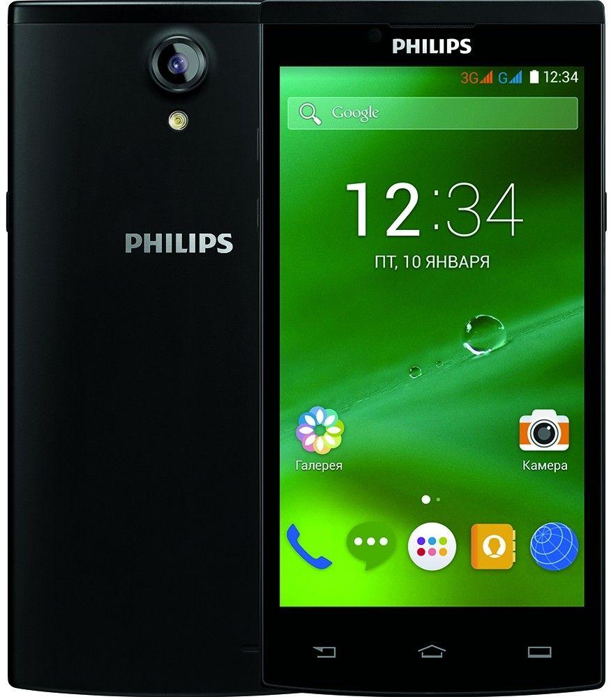 Мобильный телефон Philips S398 Dual Sim Black - 1